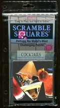 B Dazzle Cocktails Scramble Squares Brain Twister Puzzle  - $14.84