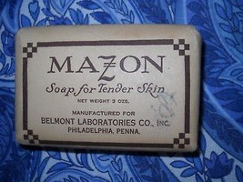 VINTAGE MAZON BAR SOAP FOR TENDER SKIN IN ORIGINAL WRAPPER - $5.99