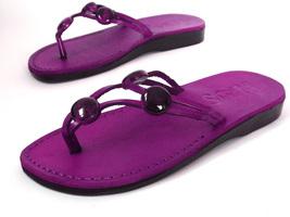 Leather Sandals for Women AMBER by SANDALIM Biblical Greek Roman Sandals - $39.83 CAD+