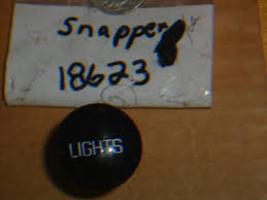 OEM Snapper Light Switch Lever & Knob 18623, 7018623 New*51212 NOS - $5.99