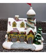 Hawthorne Village Rudolph's Christmas Town REINDEER BARN AND WEATHER WAT... - $12.50