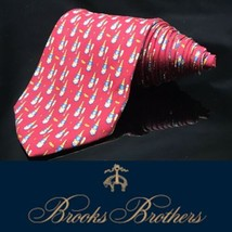 Brooks Brothers Makers Neck Tie Champagne  Drink Party Celebrate Tie - $28.69