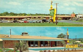 MERIDIAN, Mississippi MS  HOLIDAY INN MOTEL  Pool~50's Cars  ROADSIDE  P... - $5.84