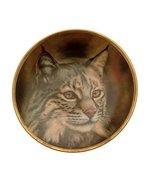 Lenox Big Cat of The World Bobcat Plate GB68 - $38.21