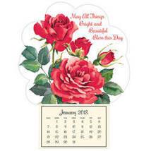 """Roses in Bloom"" Mini Magnetic Calendar - $11.49"