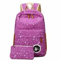 Canvas Women backpack Big Capacity School Bags For Teenagers - $21.99