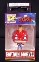 Funko Pocket Pop Bobblehead Keychain Captain Marvel Keyring - $6.76