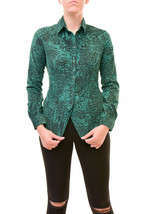 Diesel Women's Authentic C-I0LE -B Camicia Shirt Green Size S RRP £180 B... - $165.78