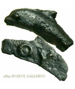 Bronze DOLPHIN Money *Rare inscribed both sides* Olbia Thrace Ancient Gr... - $350.10