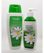 Herbacin Kamille Skin Firming Body Lotion AND Hand & Nail Balm - 2pc Set - $15.59
