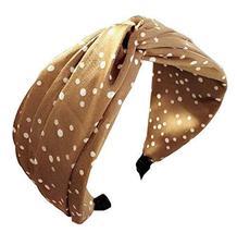 Women Stylish Headband Fabric Headband Cloth Bow-knot Hairband #15 - $13.00