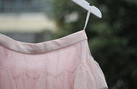 Women Black Tiered Tulle Skirt Full Long Black Tulle Layered Skirt Plus Size image 11