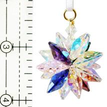 Small Aurora Borealis Crystal Suncluster Ornament image 2