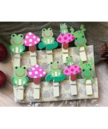 wooden pegs,picture drawing wooden Clips,Clothespin,Birthday Favor Decor... - $3.20+