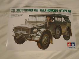 "1/35 Tamiya German Horch 4X4 Type 1a # 52 ""1975"" Discontinued Kit F/S Ba... - $23.09"