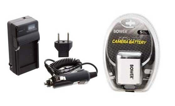 Primary image for Battery + Charger for Casio EXZ85BN EXZ85EO EXS10BK EXS10BE EX-S10BK EX-S10RD