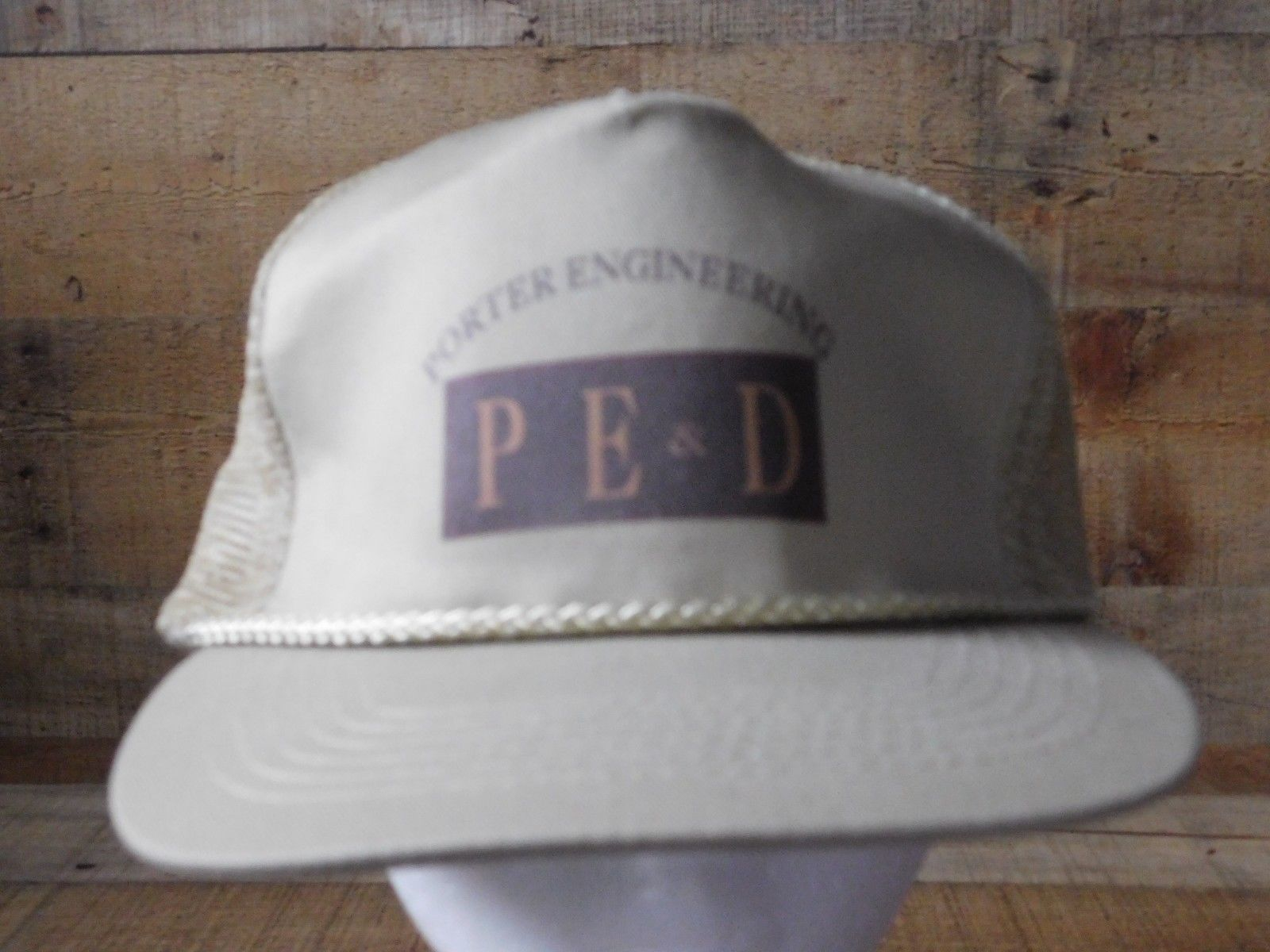 Primary image for Porter Engineering P E & D Snapback Adjustable Adult Hat Cap