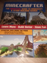 The Unofficial Guide To Minecraft & Other Building Games Paperback - $8.99