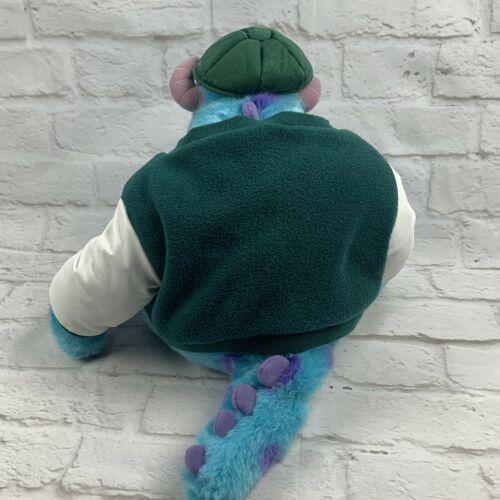 "Monsters Inc. 12"" Sully Plush w/ Varsity Jacket Disney Store Genuine Original image 7"