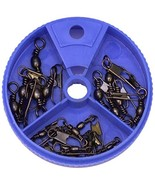 Eagle Claw Snap Swivel Assortment, 20 Piece Brass - $5.13