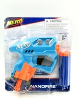 Hasbro Nerf N-Strike NanoFire Blasters Gun w/ 3 Darts - Blue. NEW - $12.82