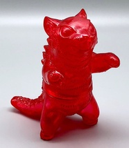 Max Toy Clear Red Negora RARE image 2