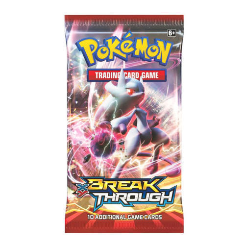 XY Breakthrough 12 Booster Pack Lot 1/3 Booster Box POKEMON TCG Free Shipping