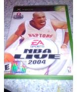 EA Sports NBA Live 2004 Xbox - $5.00