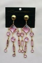 4 inch Dangle Earrings Fashion Jewelry Chandelier Earrings Purple - $8.90