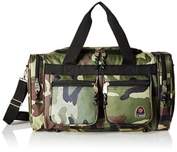 Rockland Luggage 19 inch Tote Bag, Camo, One Size - $38.18