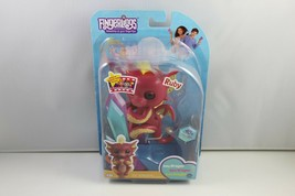 Fingerlings Ruby (Red with Gold) Interactive Baby Dragon - FAST SHIPPING - $15.83