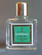Mini Eau de Cologne Imperiale Extra Dry Guerlain .13 Oz 4 ml Full Bottle! - $19.99