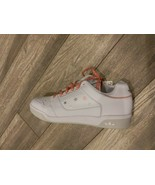 New WOMENS ADIDAS WHITE SLAMCOURT LEATHER Sneakers Court SZ-7.5 - $65.00