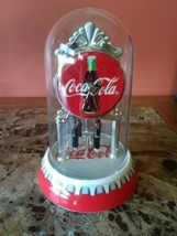 COCA-COLA DOME CLOCK 2002 ANNIVERSARY - Working - Nice! - £22.79 GBP