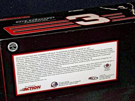 2003 Action Racing Dale Earnhardt  #3 1:24 scale stock cars image 5