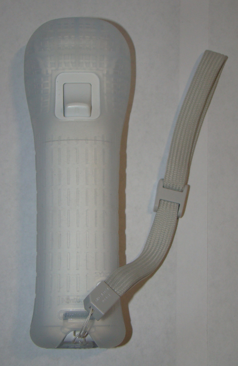 Nintendo Wii - Official OEM Controller (Complete with Silicon Case, Wrist Strap)