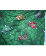 Teenage Mutant Ninja Turtles Sheet Fitted Toddler Bed Nickelodeon Green - $12.86
