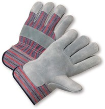 Blue Hawk 9 Pack Large Mens  Leather Palm Work Gloves lot of 9 Quality l... - $27.10