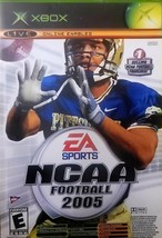NCAA Football 2005 (Microsoft Xbox, 2004) - $4.95