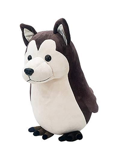 MPK4 Gaese Stuffed Animal Siberian Husky Dog Bird Plush Toy Character Soft Fluff