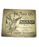 1892 Chicago Worlds Fair MAGIC CITY Photo Portfolio 1,2 - $24.98