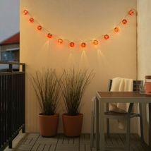 IKEA SOLVINDEN Ladybug LED String Lights Battery Operated Outdoor New image 4
