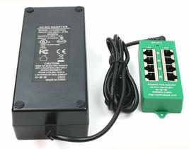 WT-AT-4-56v120w 802.3at negotiating Gigabit PoE 4 Port Power over Ethern... - $136.79