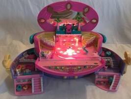 Vintage Polly Pocket Rare Hat Box Light Up Fashion Show 1995 Case w/ 1 Doll - $98.99