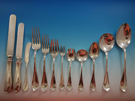 """Springfield by Unger Sterling Silver Flatware Set Service 156 PC Dinner """"S"""" Mono - $18,500.00"""