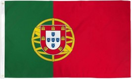 "PORTUGAL 3X5' FLAG NEW 3'X5' 3 X 5 FEET 36X60"" BIG - $9.85"