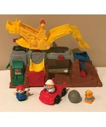 Fisher Price Little People Rock Quarry Construction Play Set Figures Bou... - $24.99