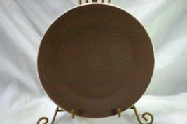 "Certified International 2005 Taffy Mocha Salad Plate 8 5/8"" - $8.09"