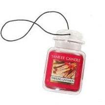 4 new yankee candle ultimate car jar air freshener sparkling cinnamon - $13.00