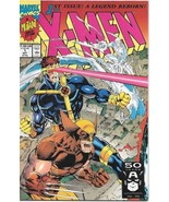 X-Men Comic Book Second Series #1 Wolverine Cover Marvel 1991 VERY FINE+... - $4.50